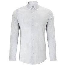 Buy Kin by John Lewis Scribble Dot Shirt, White/Grey Online at johnlewis.com