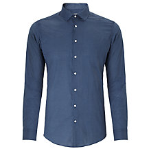 Buy Kin by John Lewis Poplin Dot Print Shirt, Navy/White Online at johnlewis.com