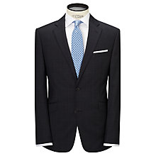 Buy John Lewis Pindot Windowpane Tailored Suit Jacket, Airforce Online at johnlewis.com