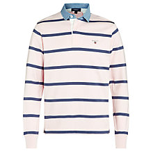 Buy Gant Breton Striped Rugby Shirt Online at johnlewis.com