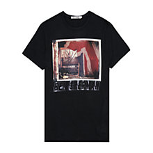 Buy Ben Sherman Mixing Desk Crew Neck T-Shirt, Black Online at johnlewis.com