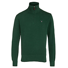 Buy Gant Sacker Half-Zip Jumper Online at johnlewis.com