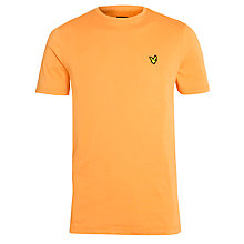 Buy Lyle & Scott Crew Neck Short Sleeve T-Shirt Online at johnlewis.com