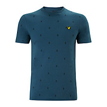 Buy Lyle & Scott Micro Argyle Print T-Shirt Online at johnlewis.com