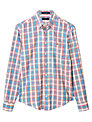 Gant Editors Oxford Check Long Sleeve Shirt, Off White