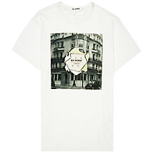 Buy Ben Sherman Jermyn Street Crew Neck T-Shirt, White Online at johnlewis.com