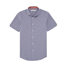 Buy Ben Sherman Penny Collar Spot Print Shirt Online at johnlewis.com