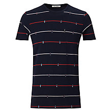 Buy Ben Sherman Table Football T-Shirt, Navy Online at johnlewis.com