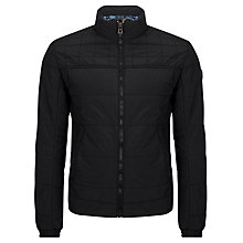 Buy BOSS Orange Odelmo Blouson Jacket, Black Online at johnlewis.com