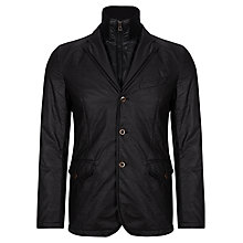Buy BOSS Orange Bleed Blazer, Black Online at johnlewis.com