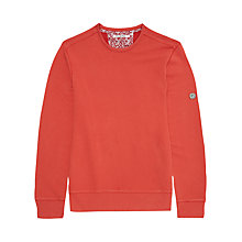 Buy Ben Sherman Crew Neck Sweatshirt, Red Online at johnlewis.com