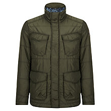 Buy BOSS Orange Omeo Field Jacket, Dark Green Online at johnlewis.com