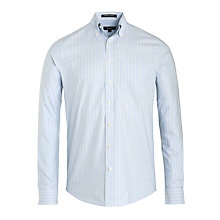 Buy Gant Journalist Oxford Striped Long Sleeve Shirt Online at johnlewis.com
