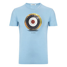 Buy Ben Sherman World Cup Football Target T-Shirt Online at johnlewis.com