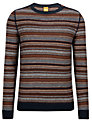 BOSS Orange Kord Stripe Jumper, Multi