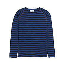 Buy Jigsaw Raglan Stripe Long Sleeve T-Shirt Online at johnlewis.com