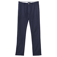 Buy Jigsaw Polka Dot Print Trousers, Navy Online at johnlewis.com
