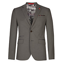 Buy Ted Baker Faramir Cotton Blazer, Grey Online at johnlewis.com