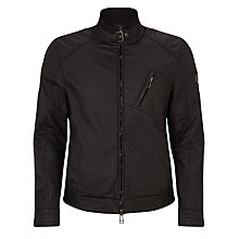 Buy Belstaff H Racer Water-Resistant Jacket, Black Online at johnlewis.com