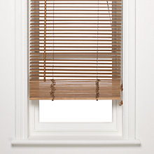 Buy John Lewis FSC Wooden Venetian Blind, 25mm, Oak Online at johnlewis.com