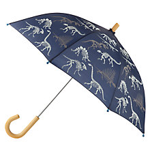 Buy Hatley Dinosaur Print Umbrella, Navy Online at johnlewis.com