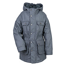 Buy Barbour Boys' Fable Coat, Grey Online at johnlewis.com