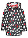 Buy Hatley Star Print Raincoat, Charcoal/Red, 2 years Online at johnlewis.com