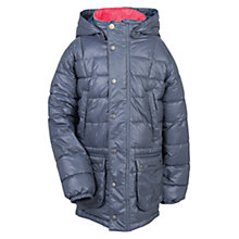 Buy Barbour Boys' Orbis Quilted Coat, Grey Online at johnlewis.com
