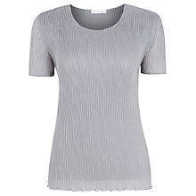 Buy Windsmoor Crinkle Top, Silver Grey Online at johnlewis.com