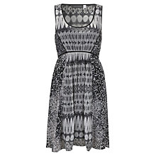 Buy Mint Velvet Roux Print Trapeze Dress, Multi Online at johnlewis.com