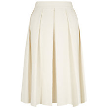 Buy Hobbs Aubree Skirt, White Online at johnlewis.com