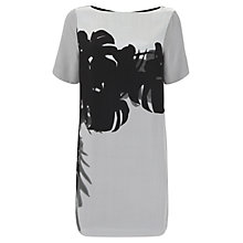 Buy Mint Velvet Paige Print Tee Dress, Multi Online at johnlewis.com