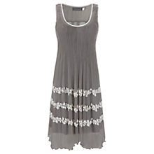 Buy Mint Velvet Embroidered Dress, Green Online at johnlewis.com