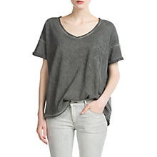 Buy Mango Distressed T-Shirt Online at johnlewis.com
