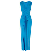 Buy Coast Mona Jersey Maxi Dress, Blue Online at johnlewis.com
