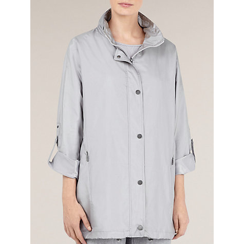 Buy Windsmoor Lightweight Parka, Silver Online at johnlewis.com