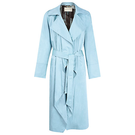 Buy Windsmoor Waterfall Raincoat, Ice Blue Online at johnlewis.com