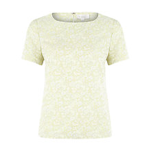 Buy Kaliko Jacquard Blouse, Apple Green Online at johnlewis.com