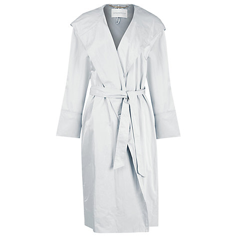 Buy Windsmoor Hooded Wrap Raincoat, Silver Grey Online at johnlewis.com