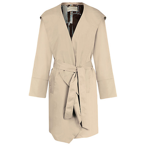 Buy Windsmoor Hooded Wrap Raincoat, Biscuit Online at johnlewis.com