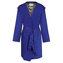 Buy Windsmoor Bright Hood Wrap Coat, Cobalt Online at johnlewis.com