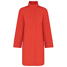 Buy Windsmoor Funnel Collar Mac, Orange Online at johnlewis.com