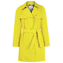 Buy Windsmoor Trench Coat, Citron Online at johnlewis.com