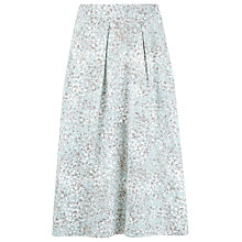 Buy Kaliko Mosaic Print Skirt, Light Blue Online at johnlewis.com