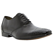 Buy Dune Accountant Toecap Oxford Shoes, Black Online at johnlewis.com