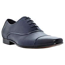 Buy Dune Academy Seam Oxford Shoes, Navy Online at johnlewis.com