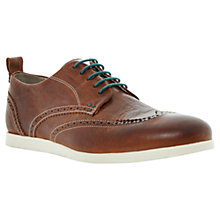 Buy Dune Babylon Leather Brogue Shoes Online at johnlewis.com