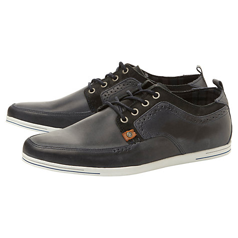 Buy Dune Treble Leather Trainers Online at johnlewis.com