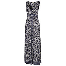 Buy Fat Face Bea Wrap Ethnic Patchwork Maxi Dress, Navy Online at johnlewis.com