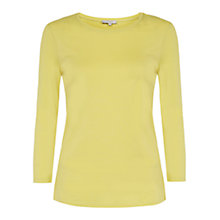 Buy Hobbs Liza Top, Pistachio Online at johnlewis.com